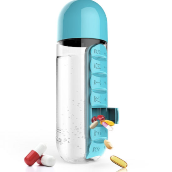Pill organizer bottle 1